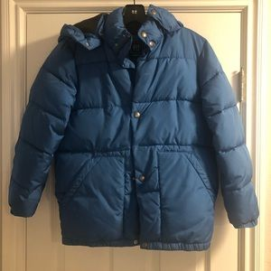 Gap PRIMALOFT Jacket with removable hood.